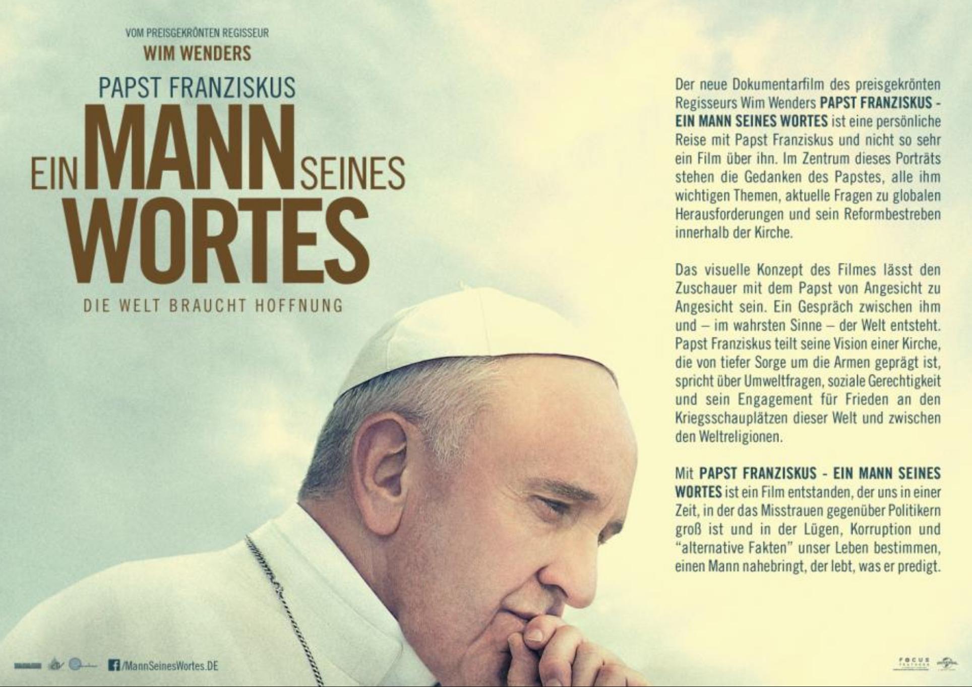 Papst Franziskus Ein Sehr Empfehlenswerter Und Bewegender